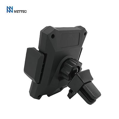 NETTEC 車用無線充電感應式車架(附出風口夾+吸盤底座支架)
