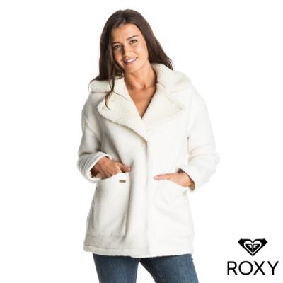 【ROXY】KANALA COAT 大衣外套 白