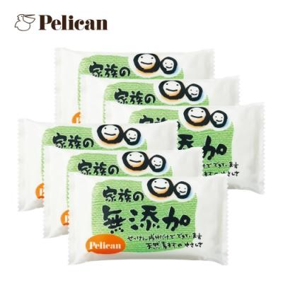 (6入組)Pelican 敏感肌及孩童無添加皂100gx6