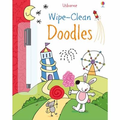 Wipe-Clean Doodles 可擦拭練習本:創意塗鴉篇