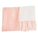 les enphants(麗嬰房) 膠原蛋白x天絲系列-床包床裙 (2色可選)