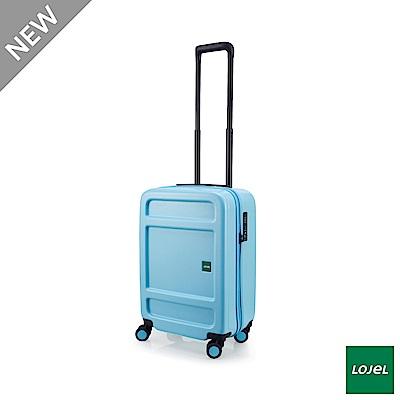 LOJEL JUNA 21吋 行李箱 雙齒防盜防爆拉鍊 飛機輪 粉藍色