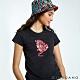【GIORDANO】女裝DEAR WORLD系列印花T恤-32 標誌黑 product thumbnail 1