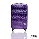 Just Beetle 迷宮系列經典20吋輕硬殼旅行箱 登機箱 行李箱-葡萄紫