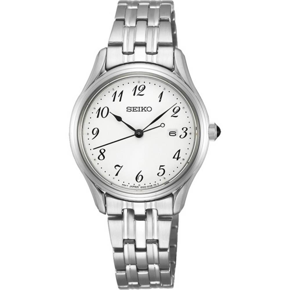 SEIKO精工 簡約風格經典腕錶-29mm(6N22-00J0S/SUR643P1)