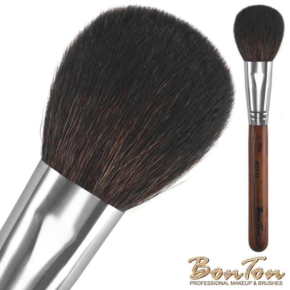 BonTon 原木系列 扁腮紅刷(大) RTF03 頂級光鋒羊毛