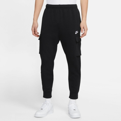 NIKE 長褲 運動長褲 健身 訓練 男款 黑 CZ9955-010 AS M NSW CLUB FT CARGO PANT