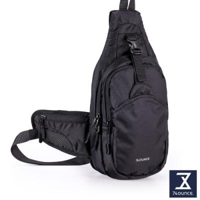74盎司 Light Sport 超輕量運動直式胸包[TG-241-LS-T]黑