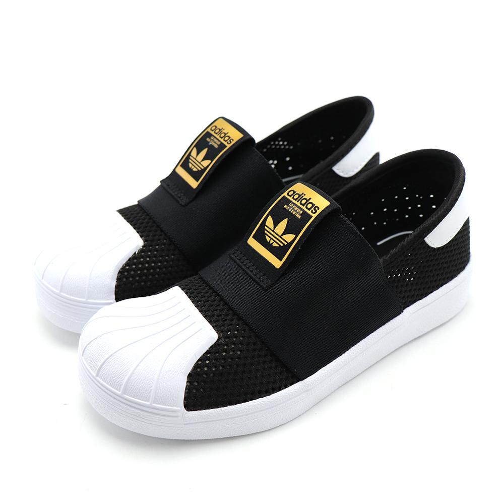 ADIDAS-中大童休閒鞋DB0924-黑