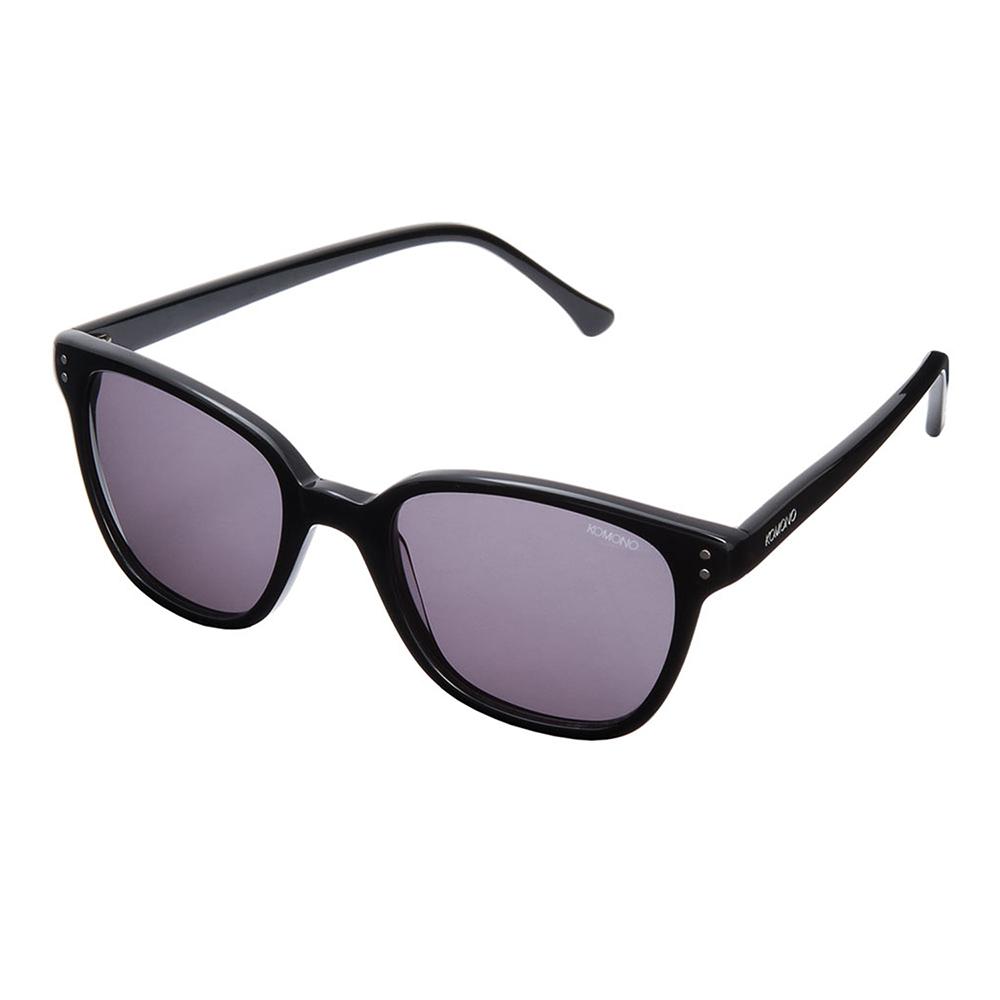KOMONO CRAFTED工藝款手工太陽眼鏡 Renee-煙燻黑