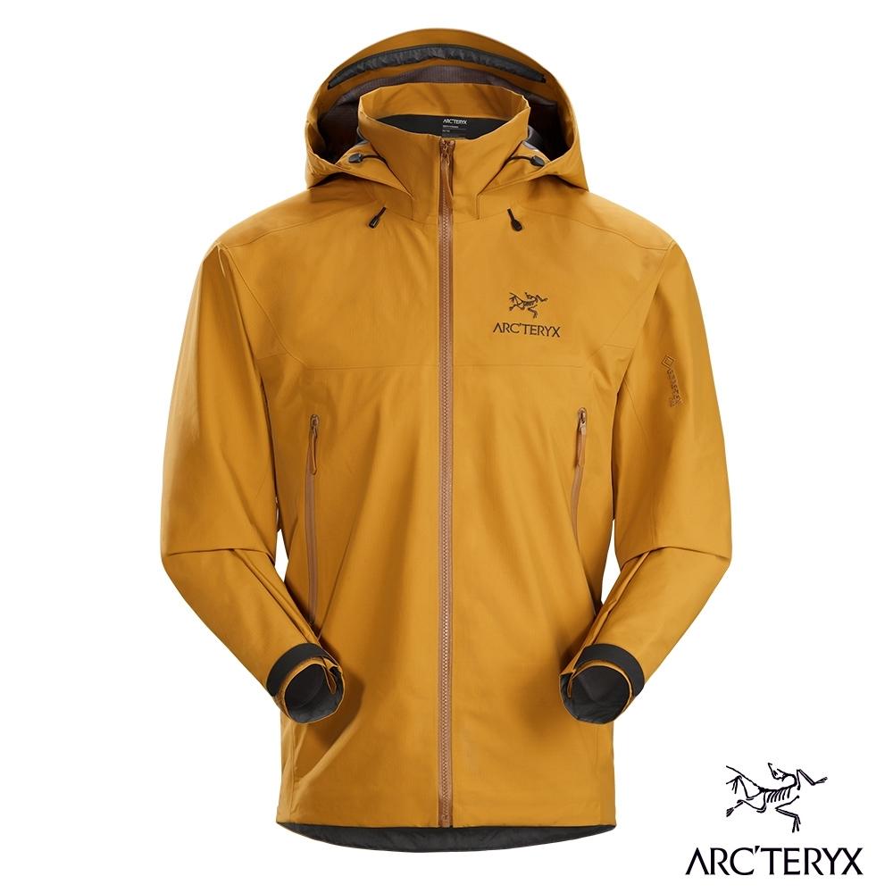 Arcteryx 始祖鳥 男 Beta AR GORE-TEX 防水外套 金黃棕