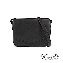 [絕版暢貨] Kiiwi O! 信封造型簡約斜背小方包 Gina 黑