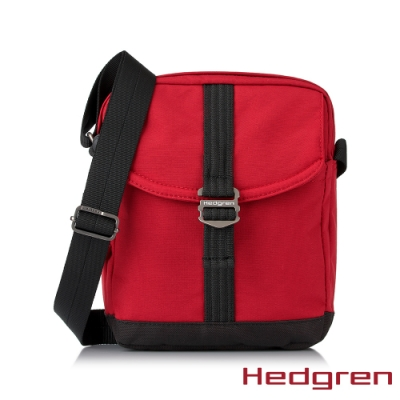 【Hedgren】GREAT綠色循環 RFID側背方包-玫瑰紅