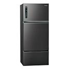 Panasonic國際牌481L三門變頻冰箱 NR-C489TV-A 星耀黑