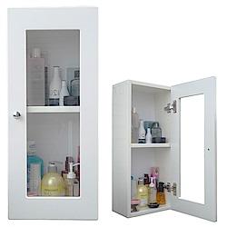 Abis 經典單門防水塑鋼浴櫃/置物櫃-2色可選(1入)