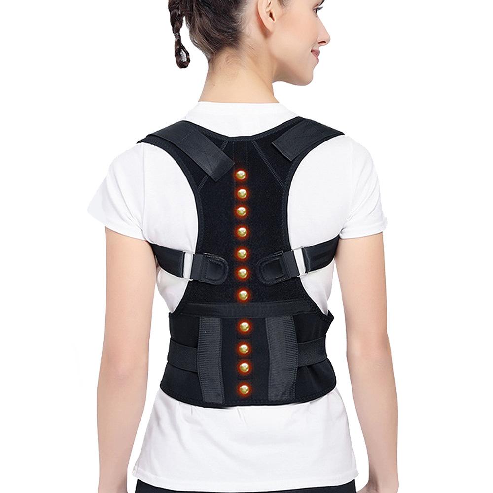 [團購4入組]日式深海磁石挺胸縮腰防駝背矯正護具lemonsolo