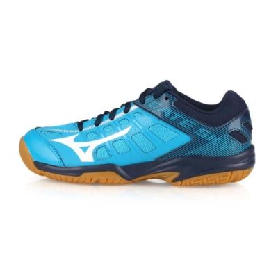 MIZUNO 男女 羽球鞋 GATE SKY 2 水藍深藍白