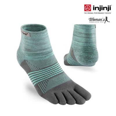 TRAIL女野跑避震吸排五趾短襪 [粉薄荷]