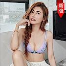 瑪登瑪朵 無鋼圈內衣  B-E罩杯(時空紫)