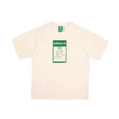 ADIDAS 男TEE HULK 圓領T(短)-GP3398
