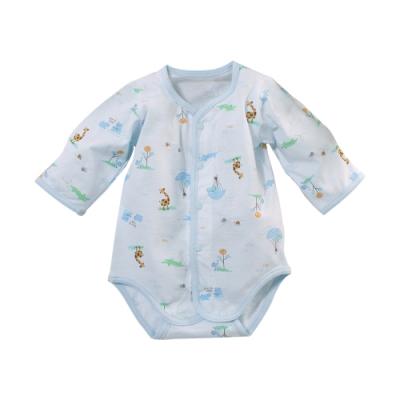 魔法Baby 台灣製薄款純棉護手連身衣 b0281