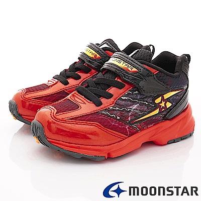 日本月星頂級競速童鞋 3E閃電系列 EI862紅(中大童段)