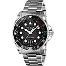 GUCCI 經典200米潛水時尚手錶(136208)-45mm