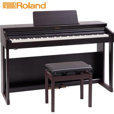 ROLAND RP701 DR 88鍵數位電鋼琴 玫瑰木色款