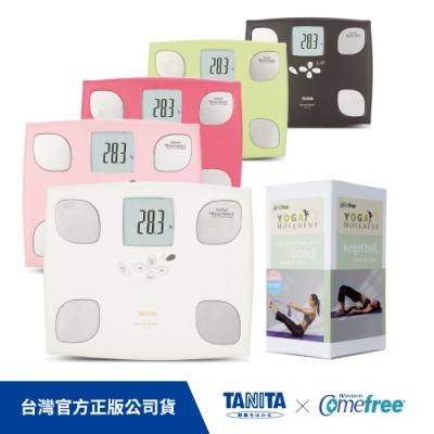 日本TANITA體組成計BC-750 + Comefree瑜珈運動三合一小幫手組