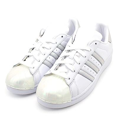 ADIDAS-SUPERSTAR女休閒鞋CQ2702-白