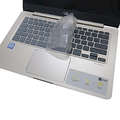 EZstick ASUS VivoBook S406 奈米銀抗菌 TPU 鍵盤膜