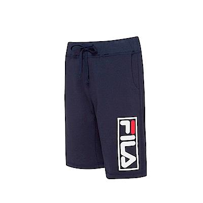 FILA #漢城企劃 針織短褲-丈青 1SHT-1416-NV