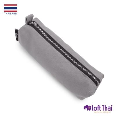 Loft THAI | 泰.筆類小物帆布收納袋 | Grey