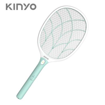 KINYO大網面分離式充電電蚊拍CM3315