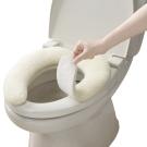 日本製造SANKO加厚2.5公分抗菌防臭馬桶座墊貼(粉黃)