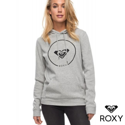 【ROXY】AFTER SURF FLEECE 帽T 灰色