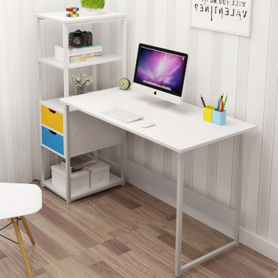 【Incare】多層側邊收納辦公桌(3色任選/120x40x110cm)