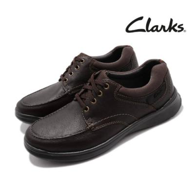 Clarks 休閒鞋 Cotrell Edge 真皮 皮革 男鞋