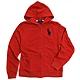 Polo Ralph Lauren 大馬Logo鋪棉連帽外套(紅色) product thumbnail 1