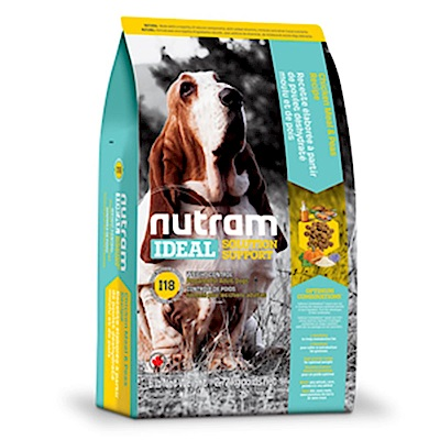 Nutram紐頓 I18 體重控制全齡犬(雞肉+豌豆)配方 2.72KG