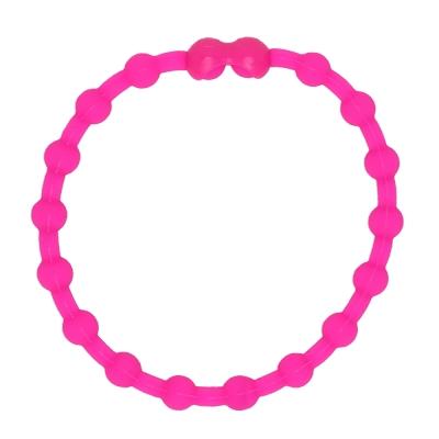 Pro Hair Tie 扣環髮圈單條組-粉紅色