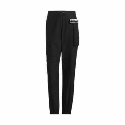 adidas 長褲 Originals Cargo Pants 女 愛迪達 三葉草 休閒 工裝 大口袋 穿搭 黑 白 GU5787
