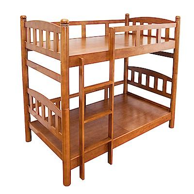 Bernice-莫恩3.5尺全實木雙層床架