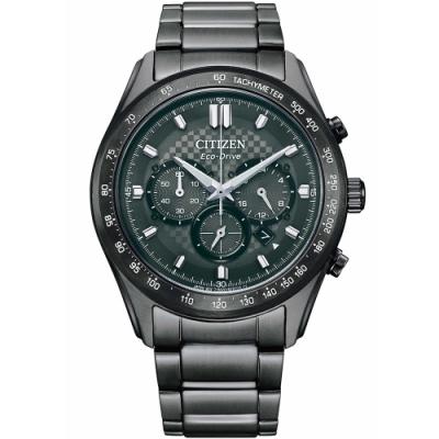 CITIZEN星辰 時刻捕手光動能計時錶 CA4457-81H-43mm