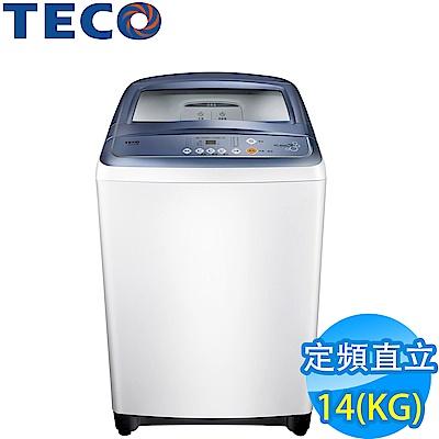 TECO東元14公斤FUZZY人工智慧超音波定頻洗衣機W1417UW