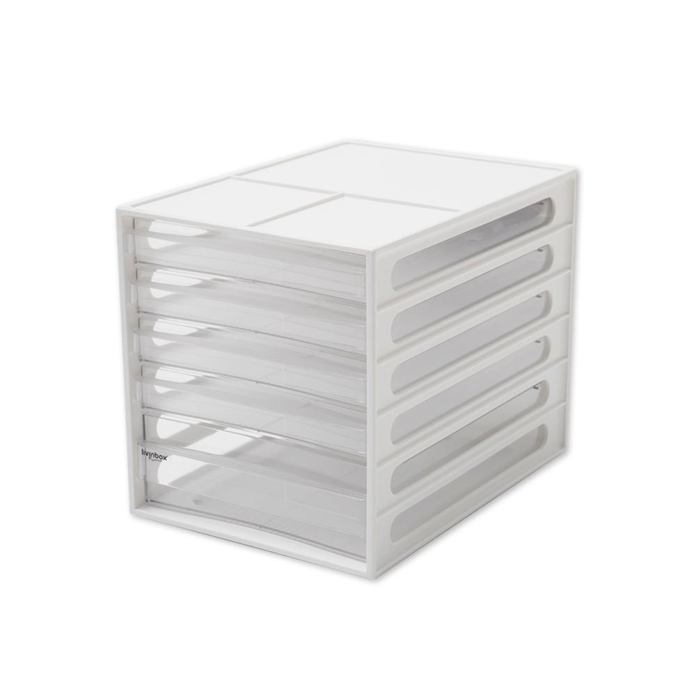完美主義 桌上型五抽資料櫃/文件櫃 2入組(2色)