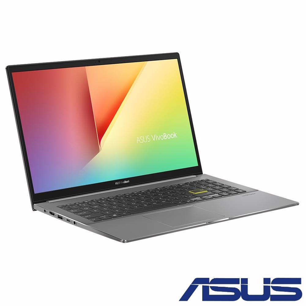 ASUS S533EQ 15吋筆電(i7-1165G7/MX350/16G/512G SSD/VivoBook S15/搖滾黑)