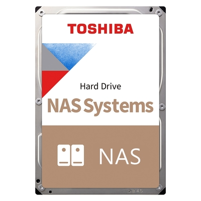TOSHIBA NAS碟 N300 3.5吋 4TB 7200 RPM/256MB NAS硬碟(HDWG440AZSTA)