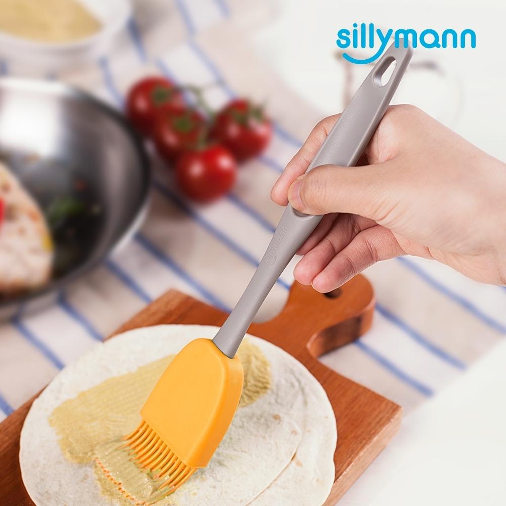 【韓國sillymann】 100%鉑金矽膠長柄料理刷