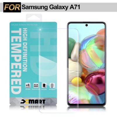 Xmart for Samsung Galaxy A71 薄型9H玻璃保護貼-非滿版